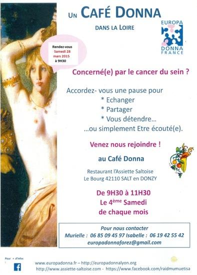 affiche café Donna 28 mars